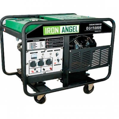 Бензиновая электростанция IRON ANGEL EG11000E3