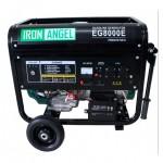 Бензиновая электростанция IRON ANGEL EG8000E