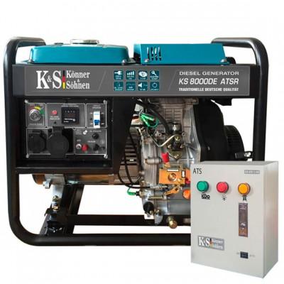 Дизельный генератор Konner & Sohnen KS 8000DE ATSR с автоматикой