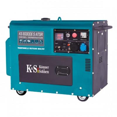 Дизельный генератор Konner & Sohnen KS 8000DE S ATSR