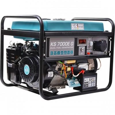 Газобензиновый генератор Konner & Sohnen KS 7000E G
