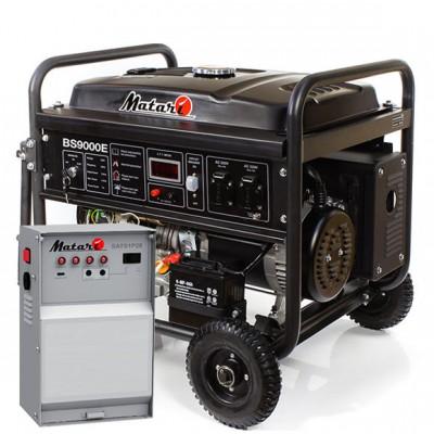 Бензиновый генератор Matari BS9000E-ATS