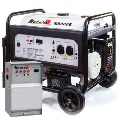 Бензиновый генератор MATARI M8000E-ATS