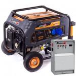 Бензиновая электростанция MATARI MP7900-ATS