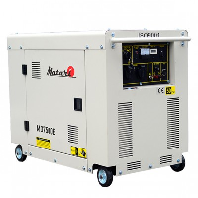 Дизельный генератор Matari MD7500E