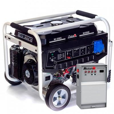 Бензиновая электростанция Matari MX10000E-ATS
