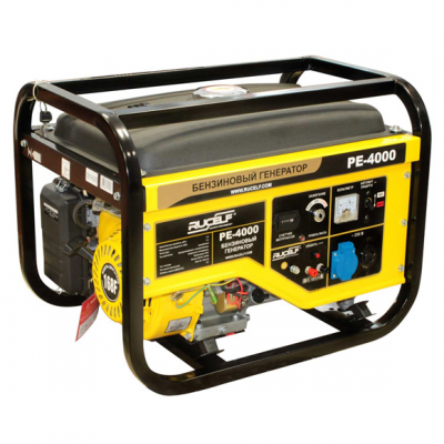 Бензиновый генератор RUCELF PE-4000