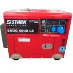 Дизельный генератор STARK SSDG6000LE